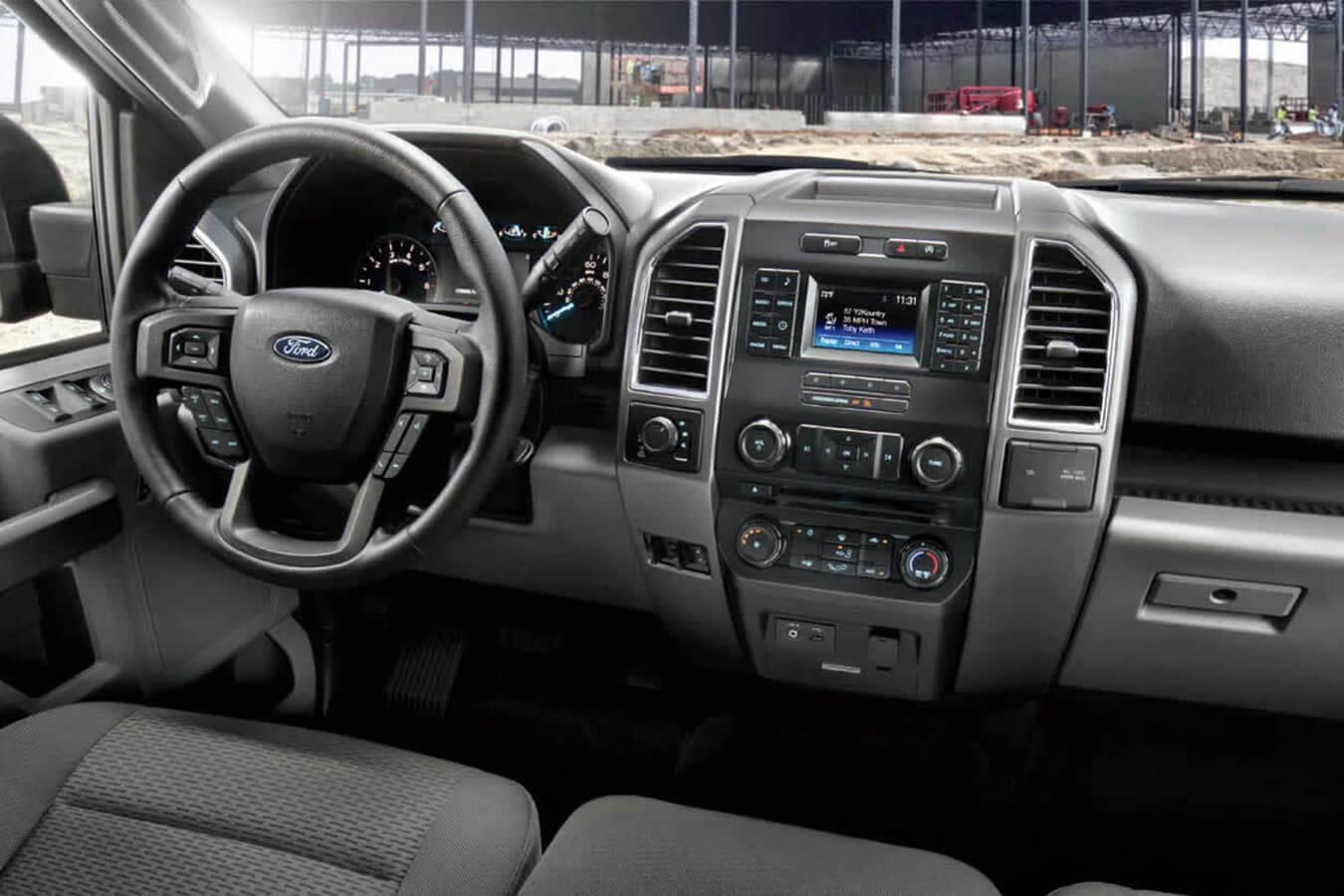 2017 Ford F-150 Dash