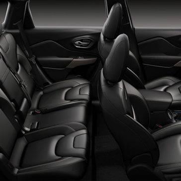 2017 Jeep Cherokee Seats
