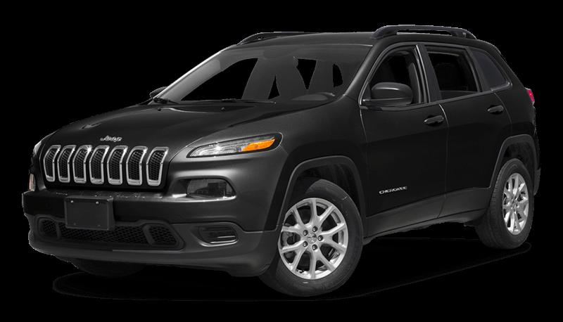 2017 Jeep Cherokee Black