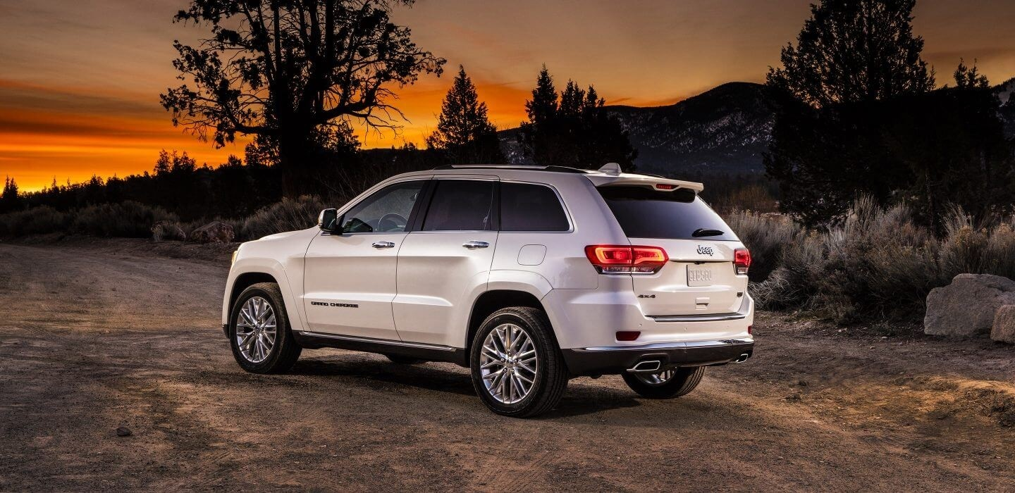 2017 Grand Cherokee PArked