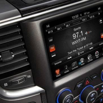 2017 Ram 1500 Touchscreen