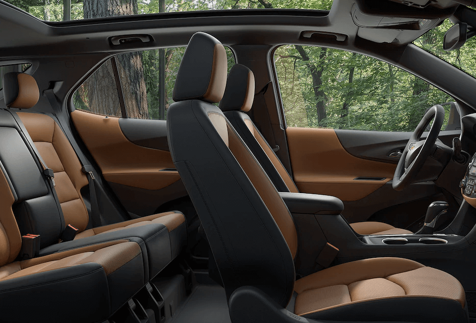 2018 Chevy Equinox Seats