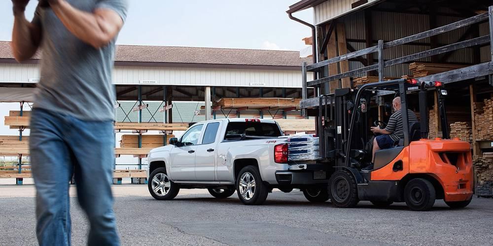 2017 Chevy Silverado 1500 Forklift