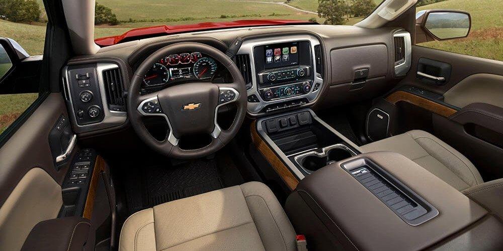 2017 Chevy Silverado Dash