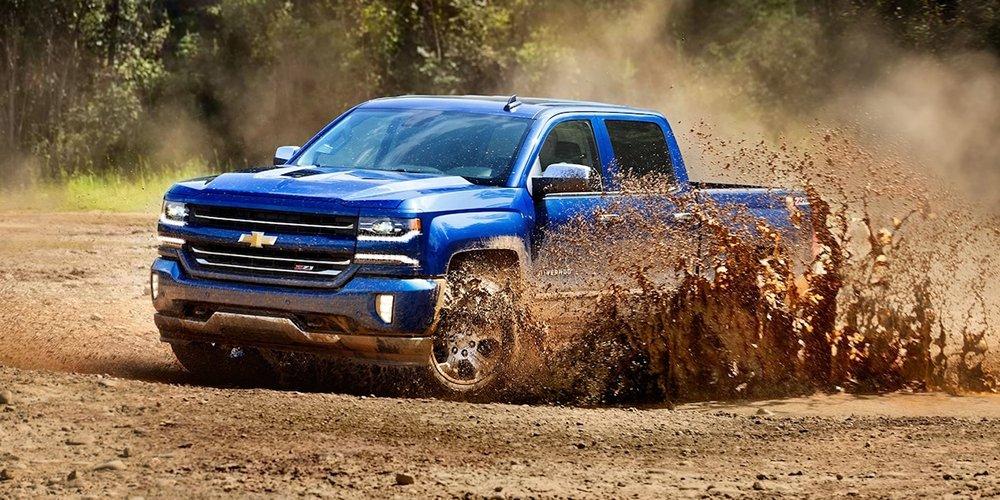 2017 Chevy Silverado Blue