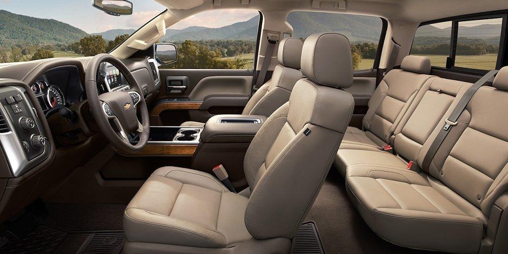 2017 Chevy Silverado Interior