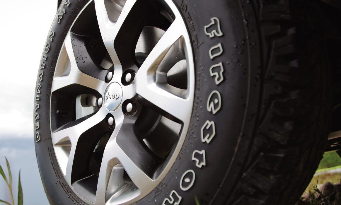 2017 Jeep Cherokee Wheel