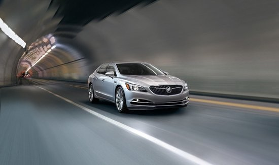 2018 Buick Lacrosse Tunnel
