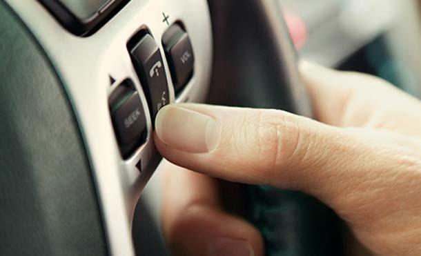 Steering Wheel Closeup