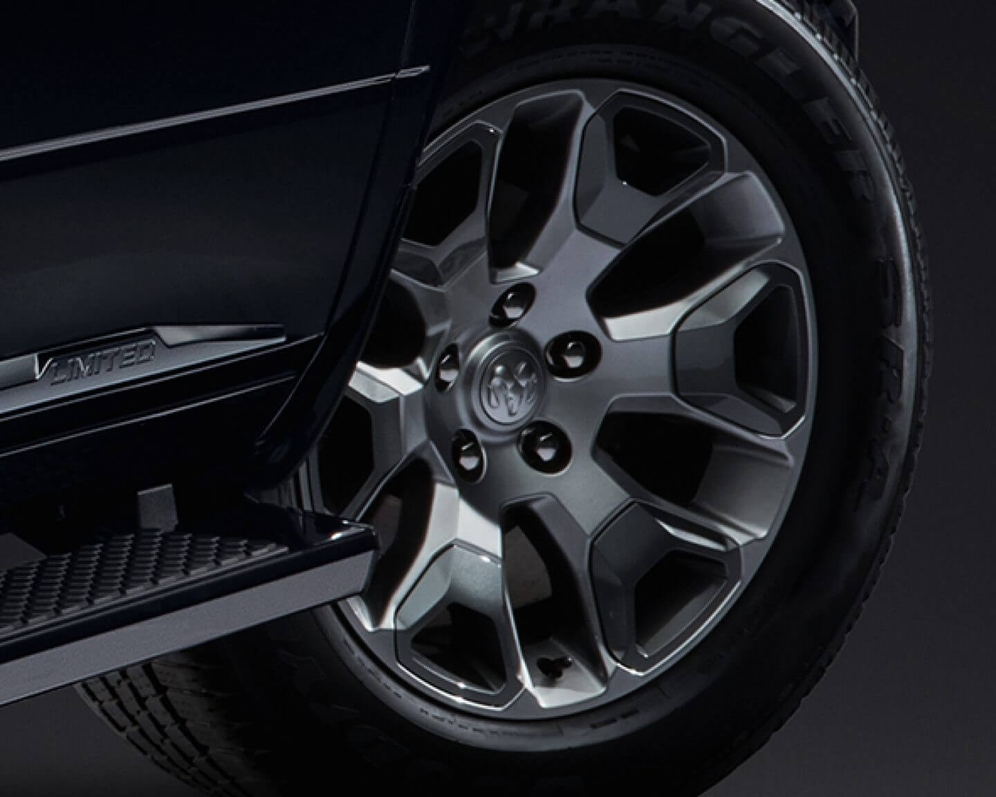 2018 Ram Limited Tungsten Wheel