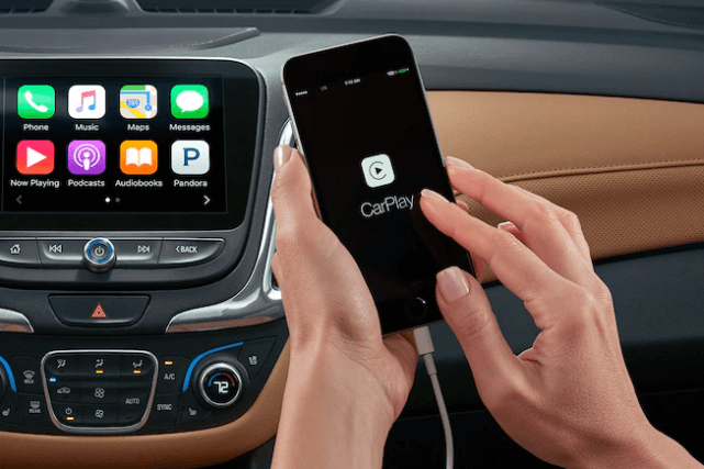 Chevrolet MyLink CarPlay