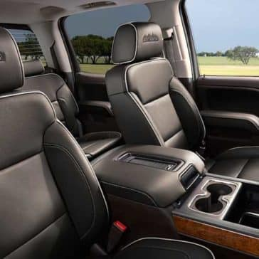 2018 Chevy Silverado Cabin