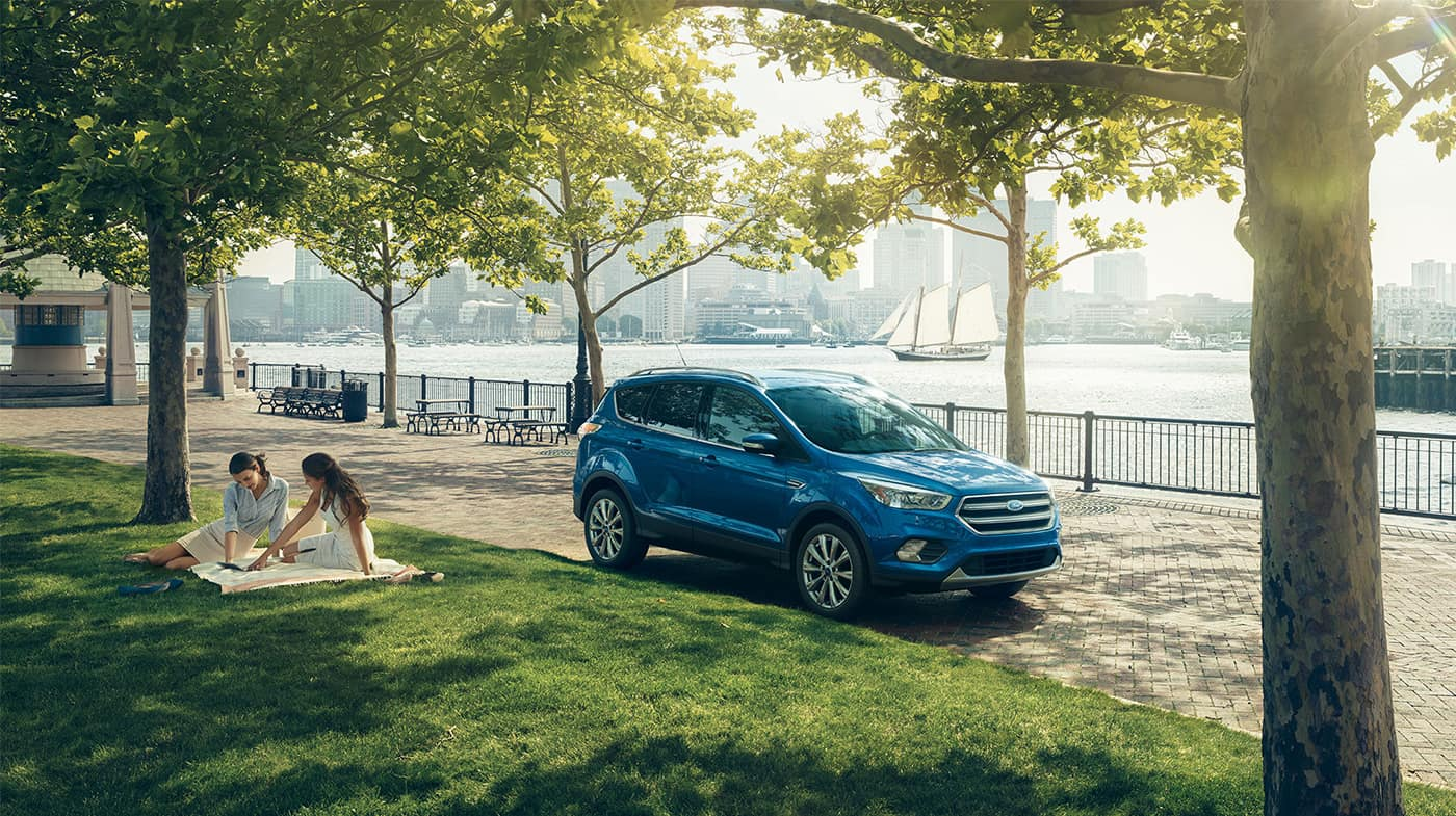 2018 Ford Escape Blue