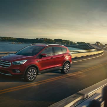 2018 Ford Escape Driving