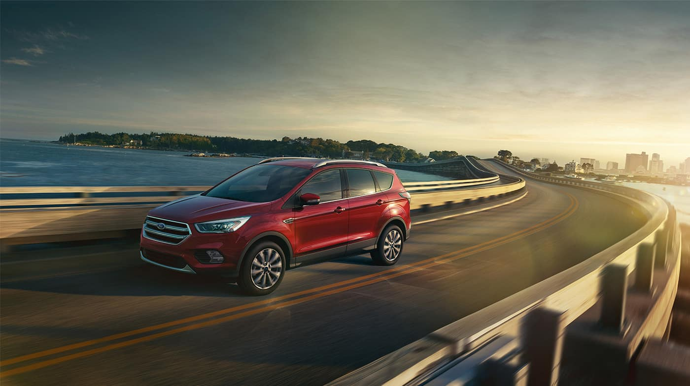2018 Ford Escape Driving