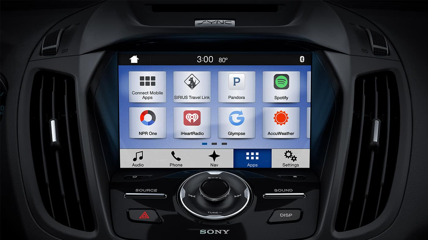 2018 Ford Escape Touchscreen