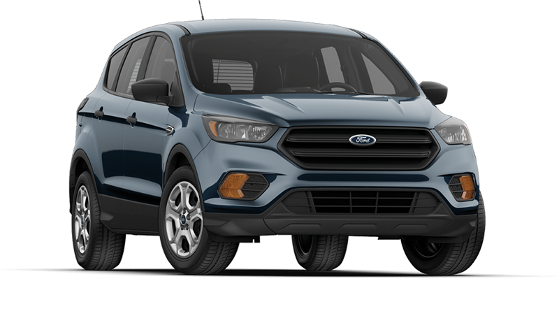 Blue Ford Escape
