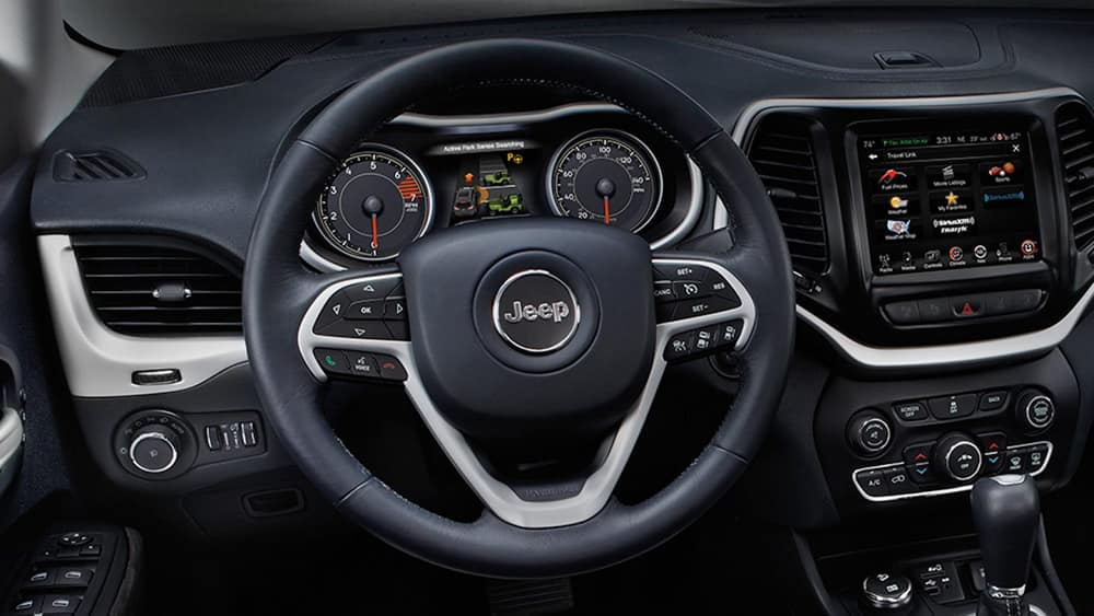 2018 Jeep Cherokee Dash