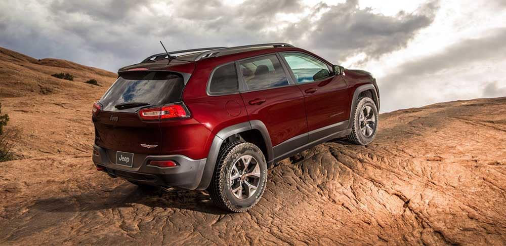 2018 Jeep Cherokee Red