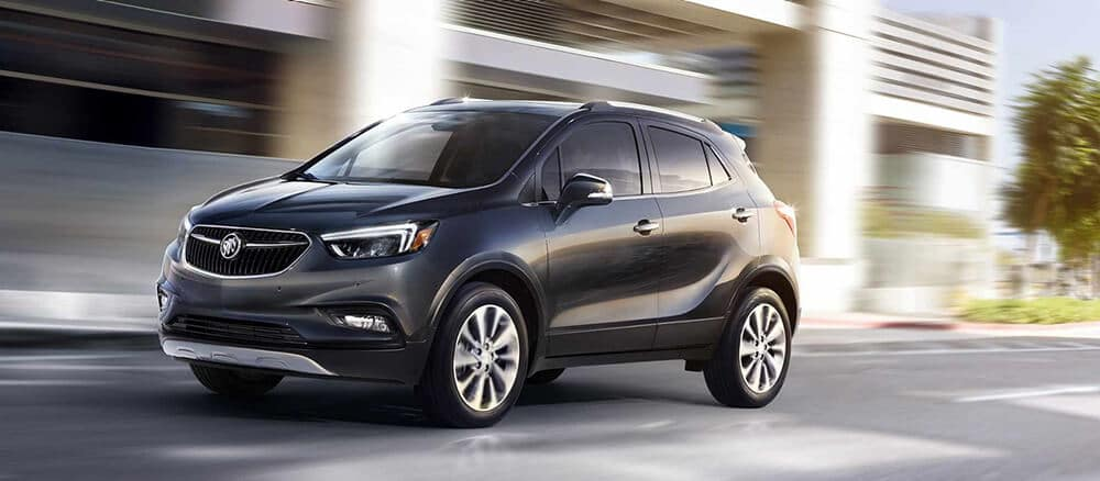 2018 Buick Encore Driving