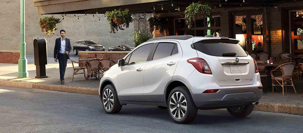 2018 Buick Encore Rear