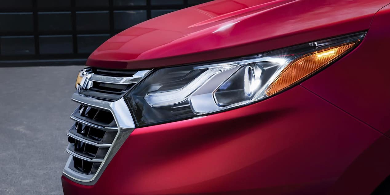 2018 Chevy Equinox Front