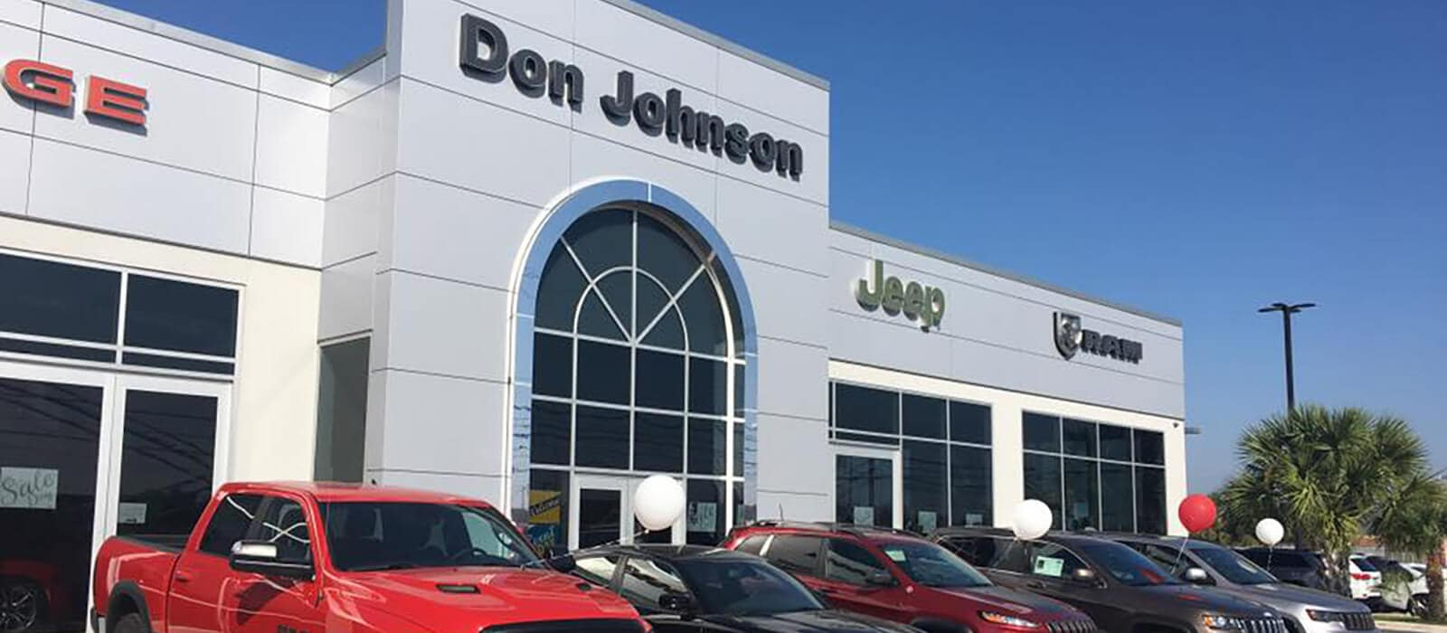 Don Johnson Dealership Exterior