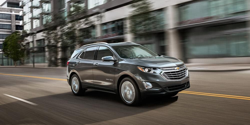 2018 Chevy Equinox Gray