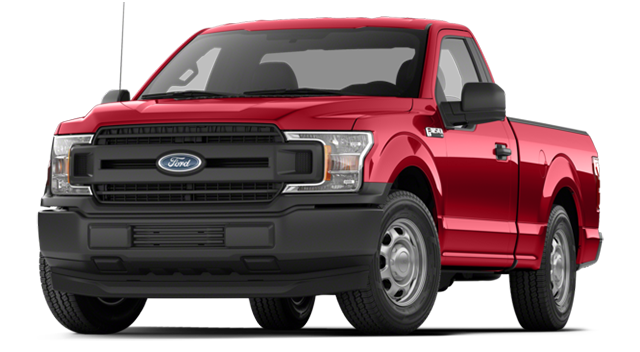 2018 Ford F-150 Red