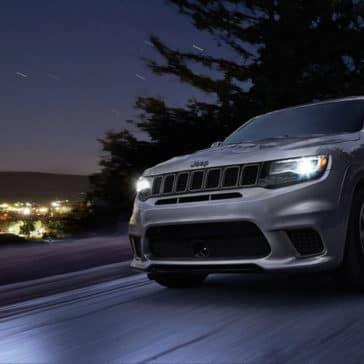 2018 Jeep Grand Cherokee at twilight