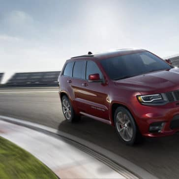 2018 Jeep Grand Cherokee in red