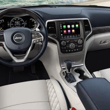 2018 Jeep Grand Cherokee dashboard