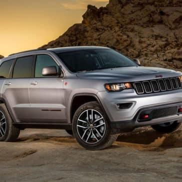 2018 Jeep Grand Cherokee in the desert