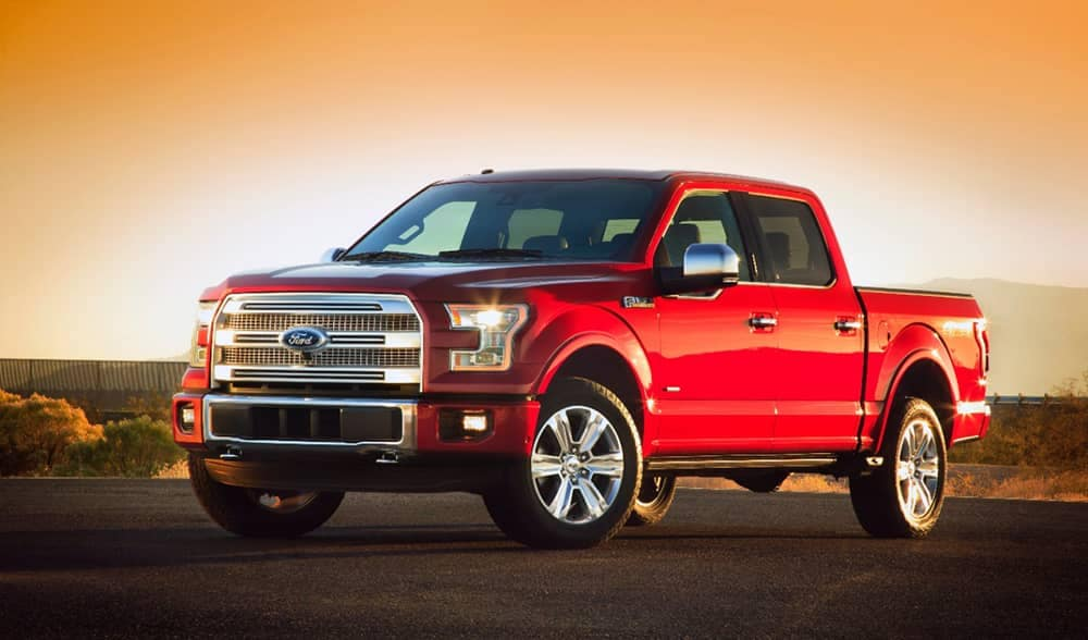 2015 Ford F-150 Red