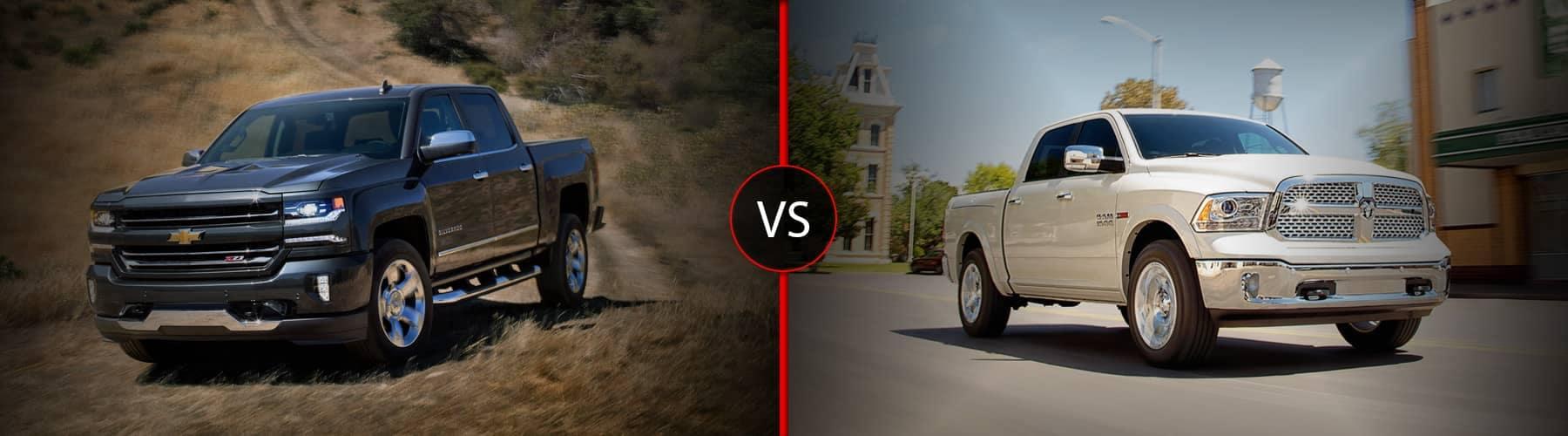 2018 Chevy Silverado vs Ram 1500