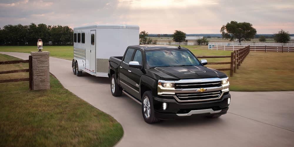 2018 Chevy Silverado 1500 Pulling Trailer