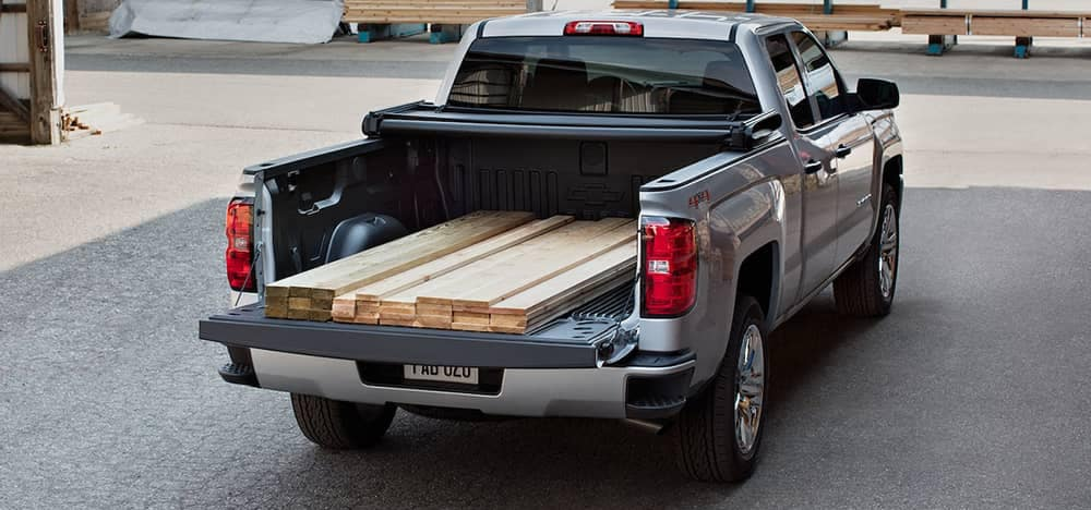 2018 Chevy Silverado With Lumber