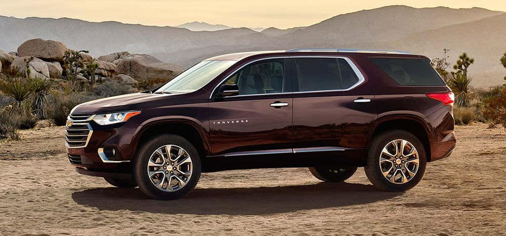 2018 Chevy Traverse Parked
