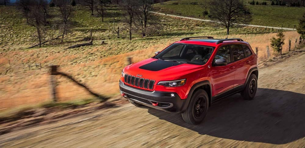 2019 Jeep Cherokee Trailhawk Trim