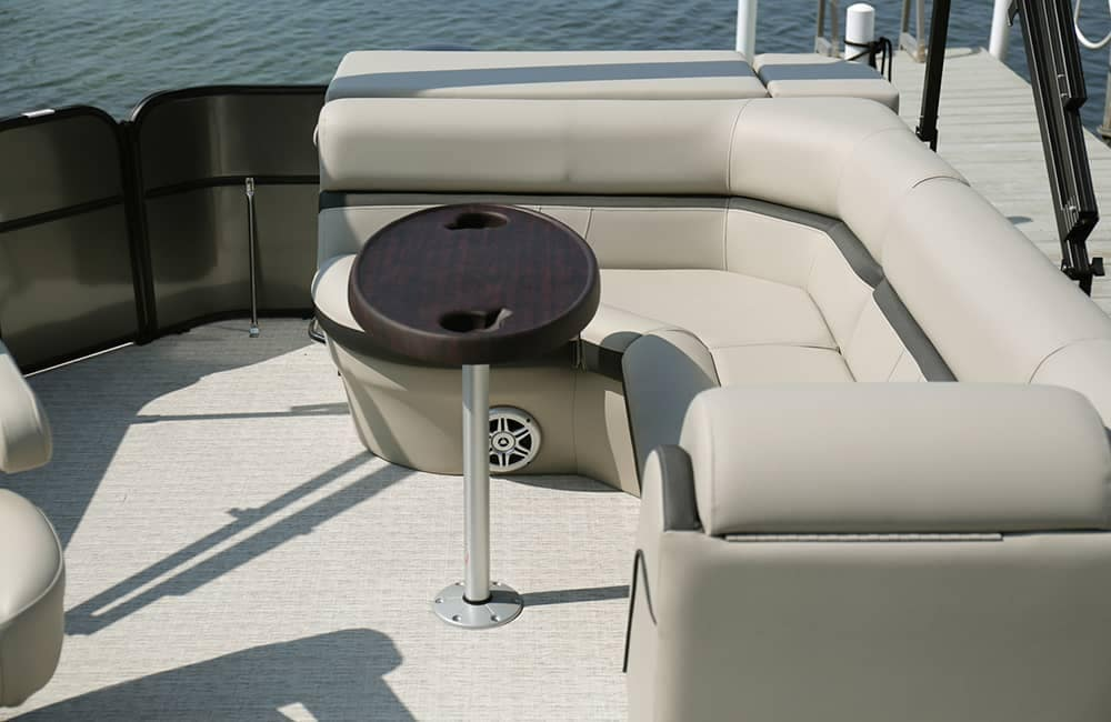 Berkshire Pontoon Boat Seating