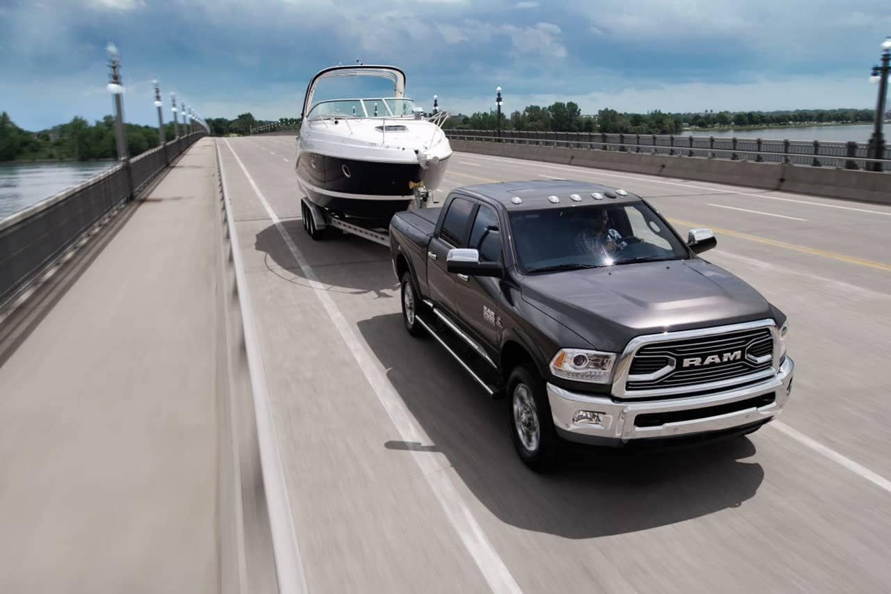 2018 Ram 2500 With Boat