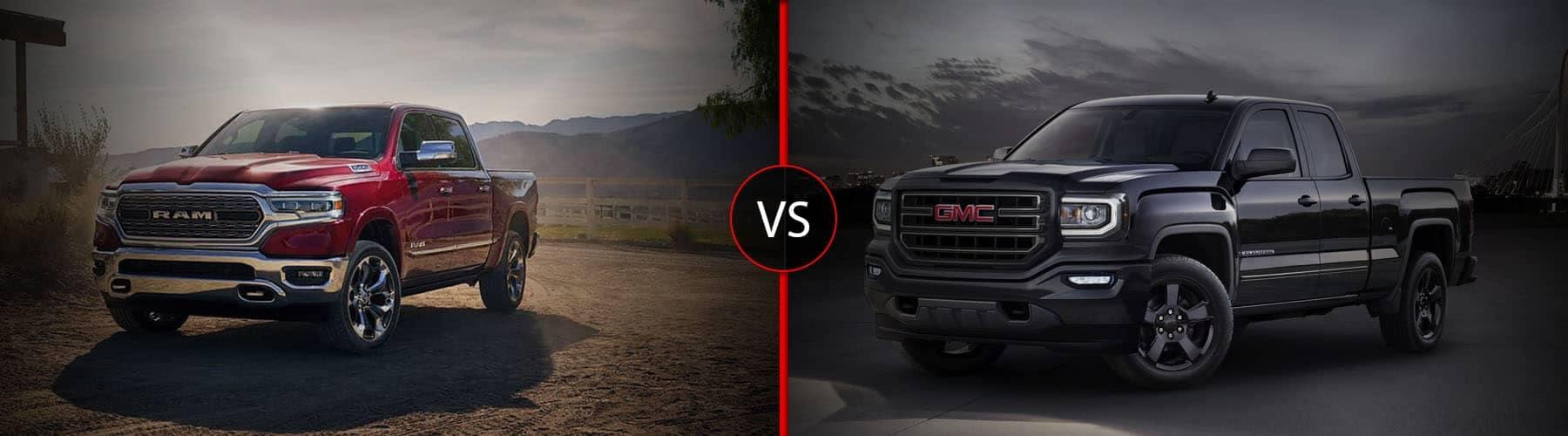 Ram 1500 vs GMC Sierra 1500