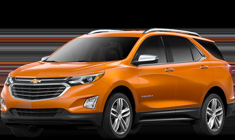 2019 Chevrolet Equinox Orange