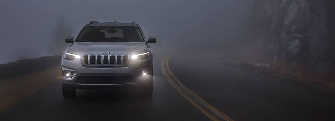 2019 Jeep Cherokee In Fog