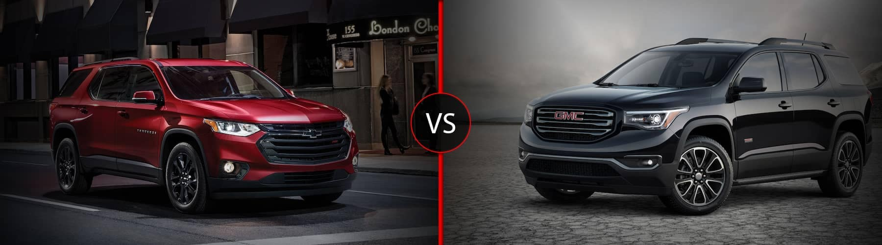 Chevy Traverse Vs Gmc Acadia