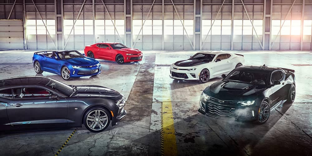 2018 Chevy Camaro Lineup