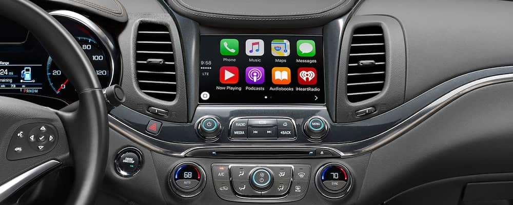 2018 Chevy Impala Apple Carplay