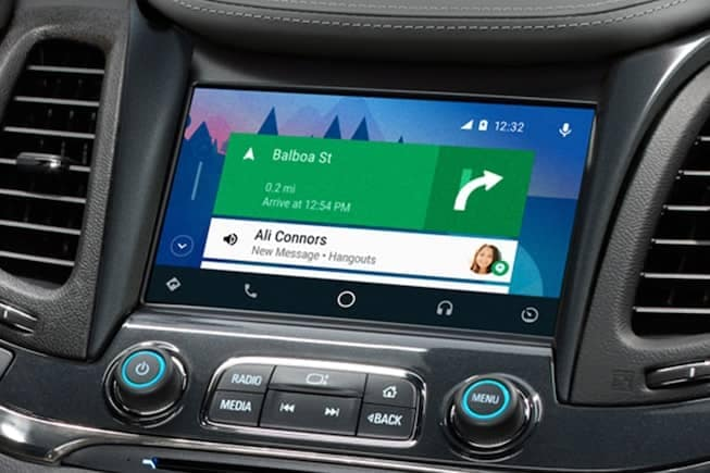 Chevy Android Auto Touchscreen