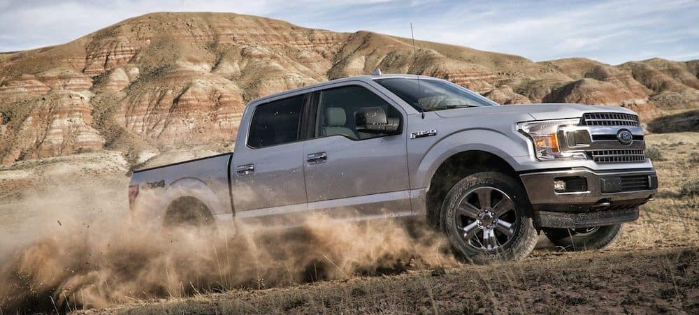 2019 Ford F-150 SuperCrew off-roading