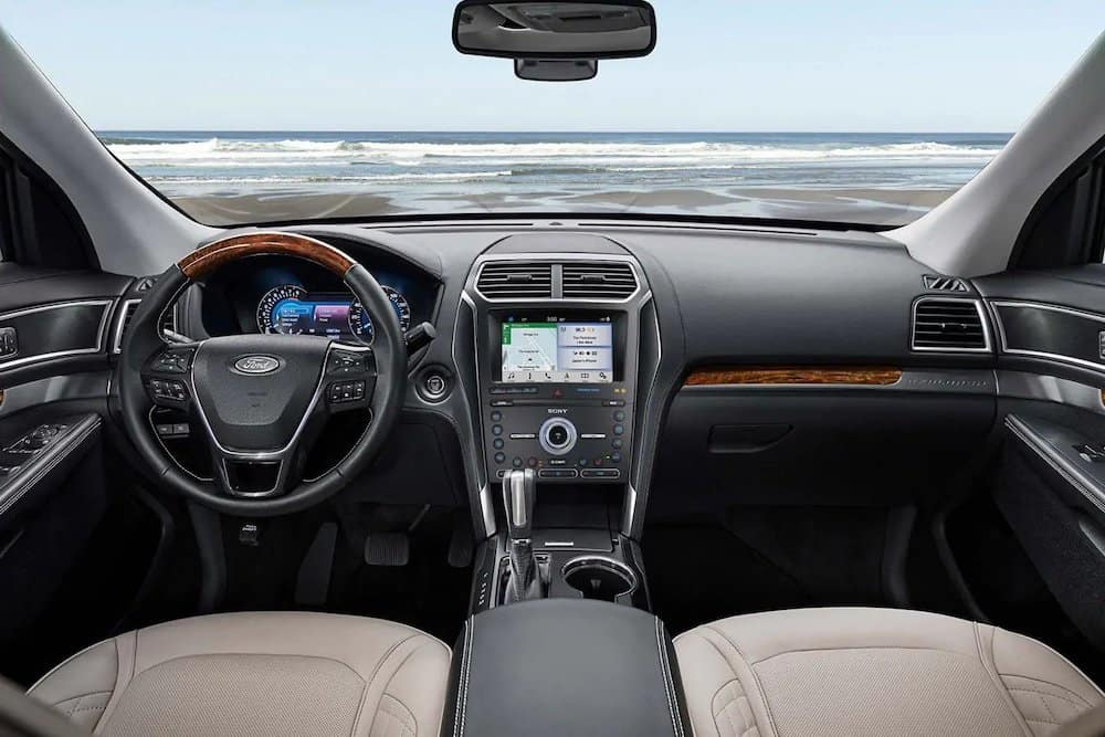 2019 Ford Explorer Platinum Interior